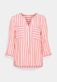 TOM TAILOR - Blouse - peach offwhite - 0