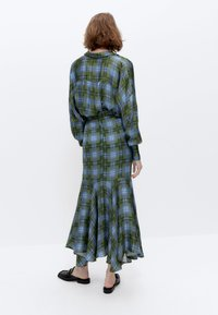 Uterqüe - A-line skirt - green - 2