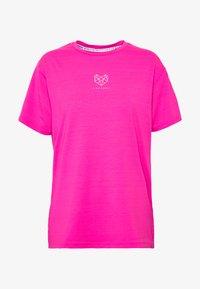 Pink Soda - HERON BOYFRIEND - Basic T-shirt - knockout pink - 3