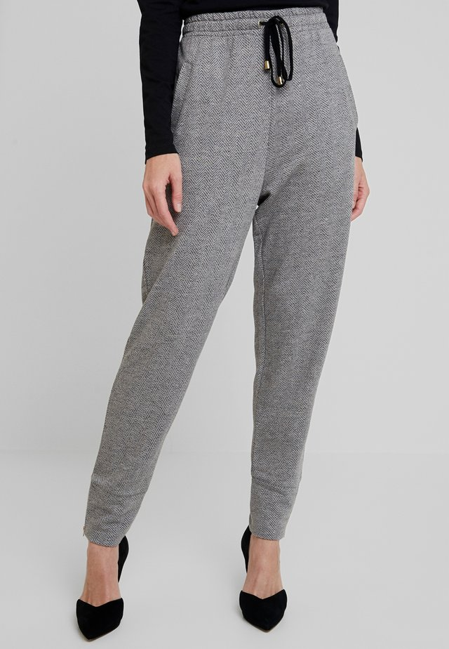 PIANA CULOTTE - Pantalon classique - grey org