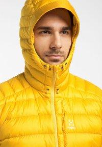 Haglöfs - ROC DOWN HOOD - Down jacket - pumpkin yellow - 3