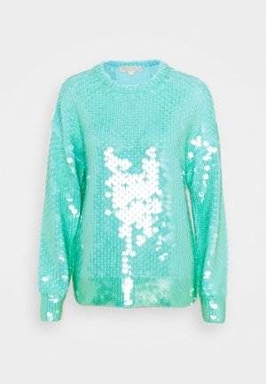 SWEATER - Jumper - cool aqua