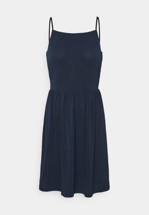 VMILANE SINGLET SHORT DRESS - Žerzejové šaty - navy blazer