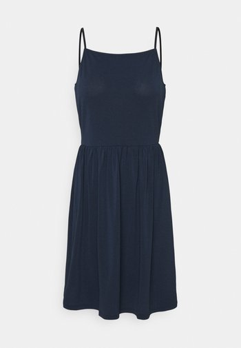 VMILANE SINGLET SHORT DRESS - Jersey dress - navy blazer