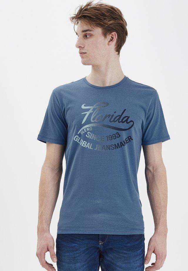 TEE REGULAR FIT - Print T-shirt - federal blue