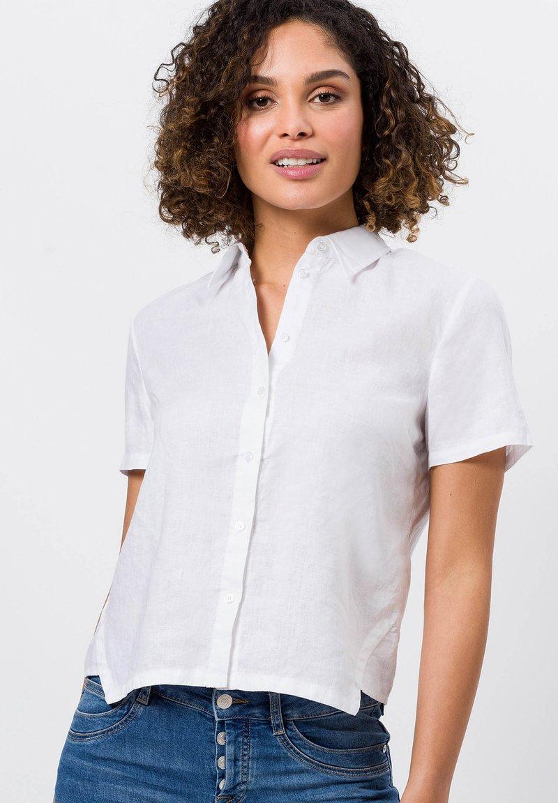 zero - Button-down blouse - white