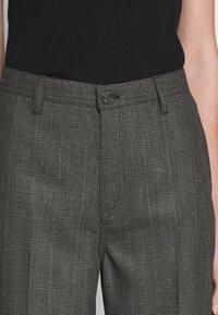 Won Hundred - KELIS - Kalhoty - black/grey melange - 4