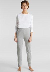 Esprit - Pyjama bottoms - pastel grey - 3