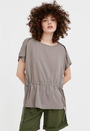 T-shirt imprimé - light brown