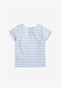 Next - STRIPE UNICORN T-SHIRT (3MTHS-7YRS) - Print T-shirt - blue - 1