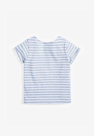 STRIPE UNICORN T-SHIRT (3MTHS-7YRS) - Print T-shirt - blue