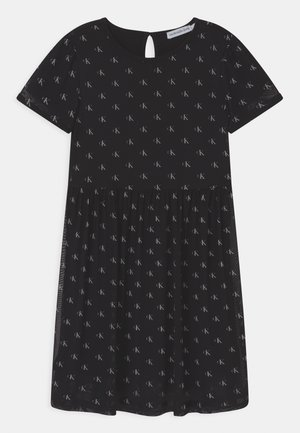 MINI MONOGRAM - Day dress - black