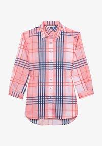 Eterna - Button-down blouse - rosa/blau - 3
