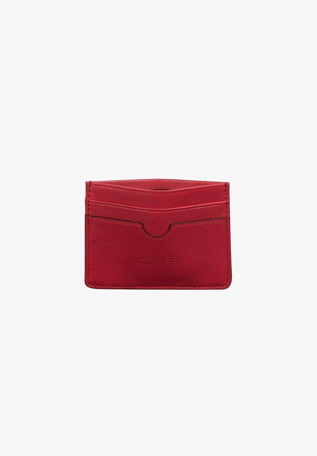 Business card holder - rouge