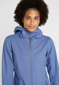 Didriksons - FOLKA WOMEN'S - Waterproof jacket - fjord blue - 5