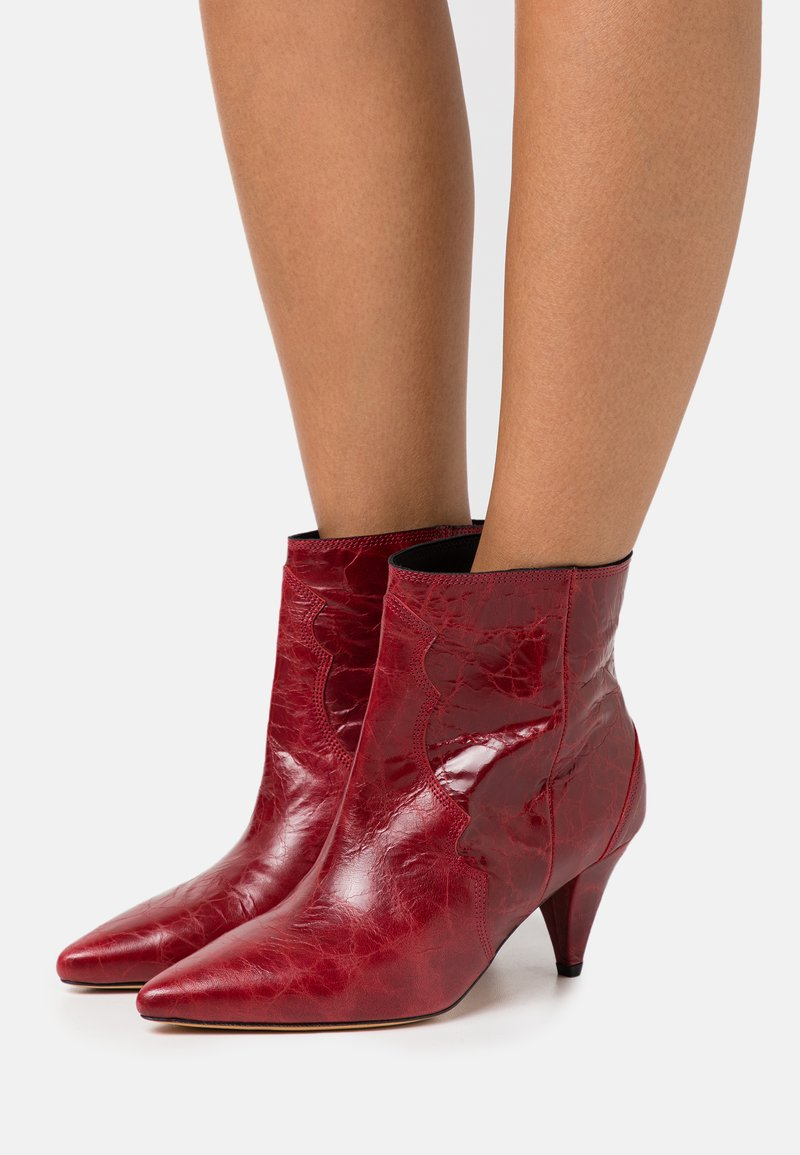 Iro - COTOPA - Classic ankle boots - red
