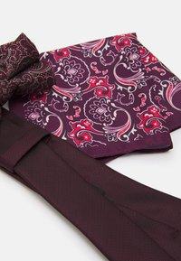Burton Menswear London - SET - Tie - burgundy - 4