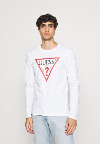 ORIGINAL LOGO - Long sleeved top - blanc pur