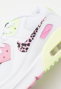 Nike Sportswear - AIR MAX 90 - Trainers - white/pink rise/pink rise/barely volt/black - 5