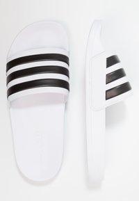 adidas Performance - ADILETTE - Pool slides - footwear white/core black - 1