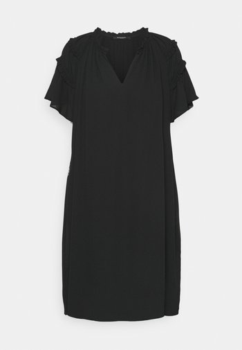 CAMILLA SILICA DRESS - Day dress - black