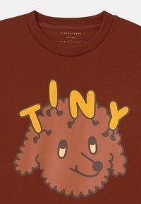 TINYCOTTONS - TINY DOG UNISEX - Sweatshirt - dark brown/sienna - 2