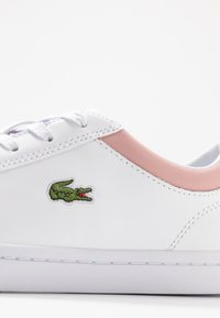 Lacoste - STRAIGHTSET  - Sneakersy niskie - white/light pink - 2