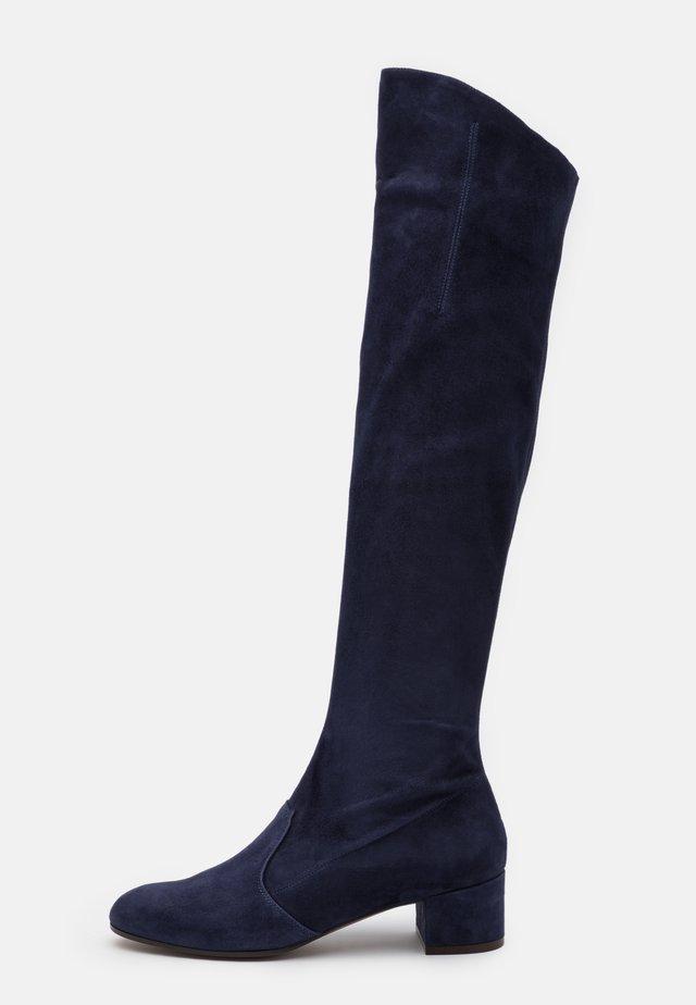 BOOT ZIP - Overknee laarzen - abyss