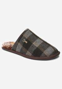 Next - MODERN HERITAGE CHECK - Slippers - brown - 2