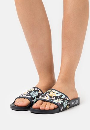 SLIPPY  - Mules - black/multicolor
