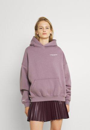 WARREN HOODIE STONE WOMEN - Sweatshirt - stone lilac