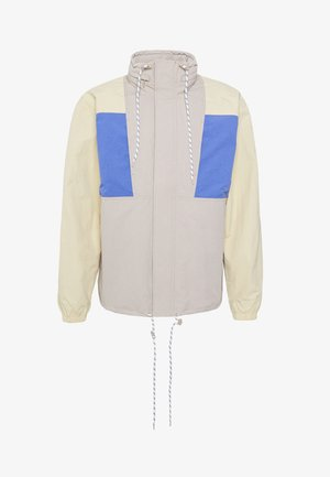 JUSTIN COLOURBLOCKED JACKET - Summer jacket - beige