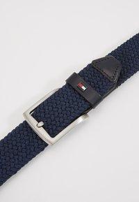 Tommy Hilfiger - DENTON  - Braided belt - blue - 4