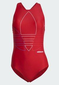 adidas Originals - Swimsuit - red - 7