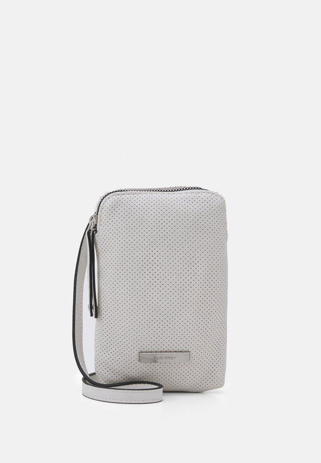 FRANZY - Across body bag - ecru