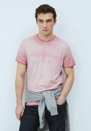 WEST SIR - Print T-shirt - pink