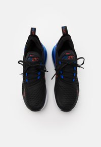 Nike Sportswear - AIR MAX 270 UNISEX - Trainers - black/chile red/hyper royal/white - 3
