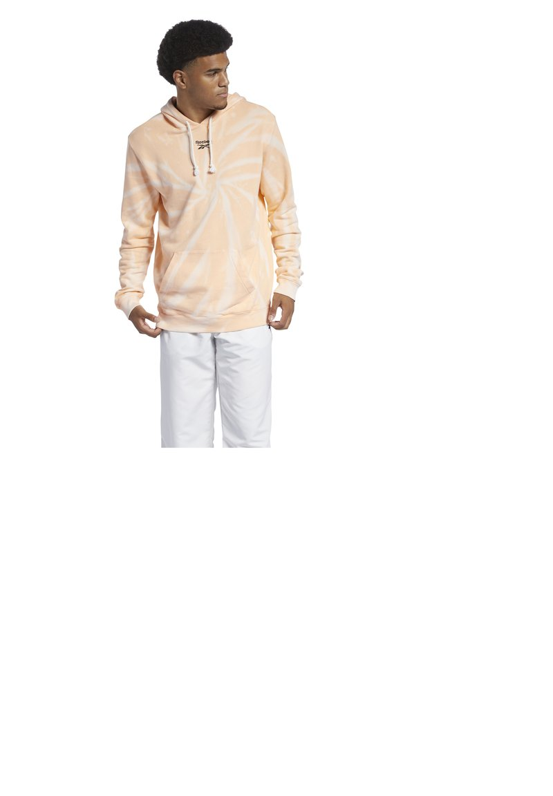 Reebok Classic - CLASSIC TIE DYE SEASONAL CASUAL HOODIE - Sweatshirt - aura orange