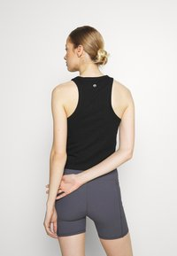 Cotton On Body - LIFESTYLE RACER TANK - Top - black - 2