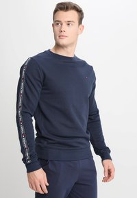 Tommy Hilfiger - TRACK TOP - Pyjama top - blue - 0