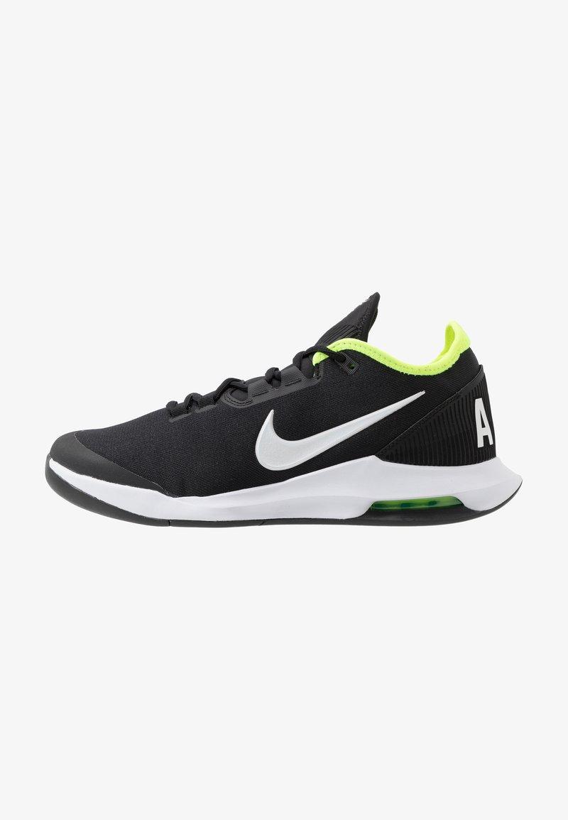 Nike Performance - NIKECOURT AIR MAX WILDCARD - Multicourt tennis shoes - black/white/volt