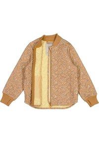 Wheat - Bomber Jacket - golden flowers - 2
