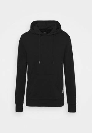 JJEBASIC HOOD  - Sweatshirts - black