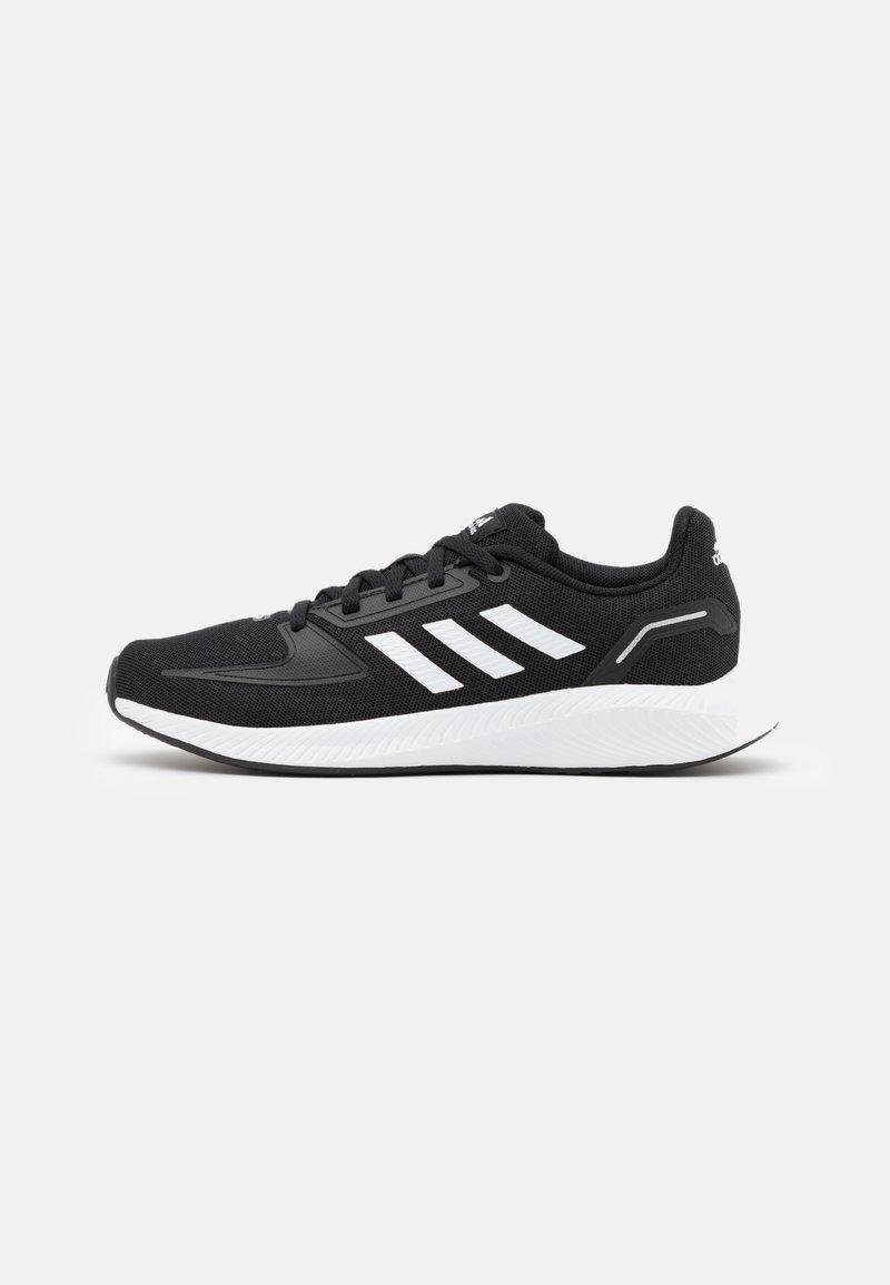 adidas Performance - RUNFALCON 2.0 UNISEX - Neutral running shoes - core black/footwear white/silver metallic