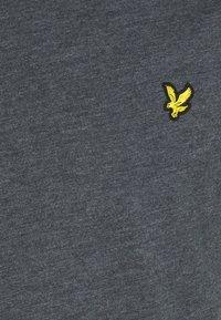 Lyle & Scott - MARLED - T-shirt - bas - dark navy - 5