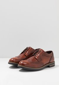 Base London - KENT - Lace-ups - hi shine tan - 2