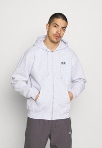 Obey Clothing - EARTH CRISIS - Zip-up hoodie - ash grey - 2