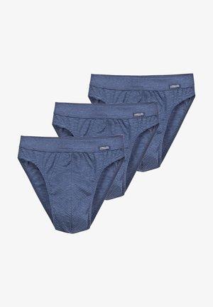 3 PACK  - Slip - blau
