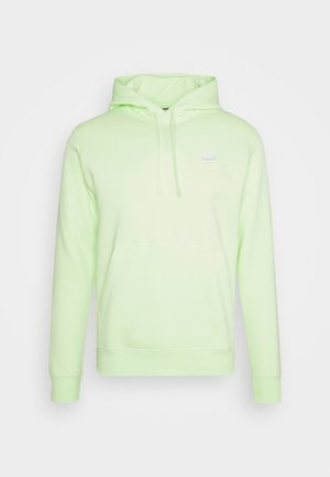 CLUB HOODIE - Jersey con capucha - liquid lime/white