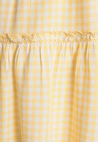 Hollister Co. - BARE FEMME SHORT DRESS - Kjole - yellow - 6